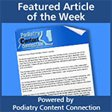 Recent Podiatry articles
